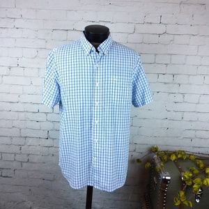 GUC Dockers men's short sleeve button down shirt